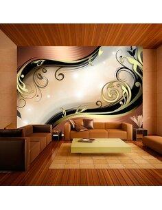 Papier peint GOLDEN GLOW - par Artgeist