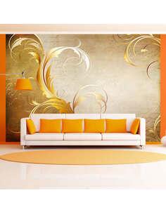 Papier peint GOLD LEAF - par Artgeist