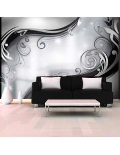 Papier peint GREY WALL - par Artgeist