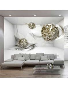 Papier peint ABSTRACT DIAMONDS - par Artgeist