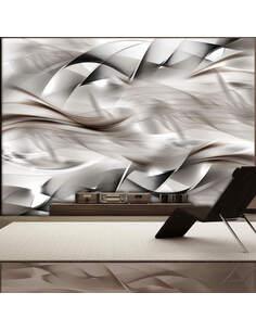 Papier peint ABSTRACT BRAID - par Artgeist