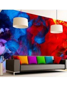 Papier peint COLORED FLAMES - par Artgeist