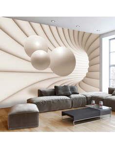 Papier peint BALLS IN THE TUNNEL - par Artgeist