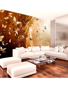 Papier peint GOLDEN PATH - par Artgeist