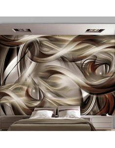 Papier peint BROWN REVELRY - par Artgeist