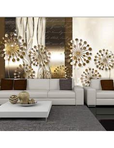 Papier peint GOLDEN REFLECTION - par Artgeist