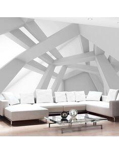 Papier peint WHITE CONSTRUCTION - par Artgeist