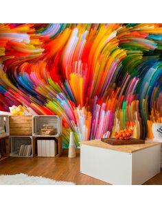 Papier peint RAINBOW WAVES - par Artgeist