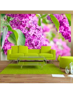 Papier Peint Lilac Flowers  Autres fleurs Artgeist
