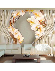 Papier peint WREATH OF ORCHIDS - par Artgeist
