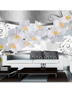 Papier peint FLOWER BRIDGE - par Artgeist