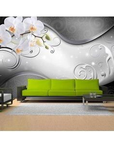 Papier Peint Milky Sea  Orchidées Artgeist