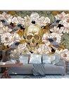 Papier peint AMONG FLOWERS - par Artgeist
