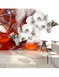Papier Peint Orchid On Fire Ii  Orchidées Artgeist