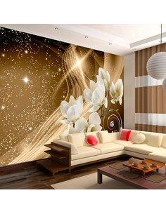 Papier peint GOLDEN MILKY WAY - par Artgeist