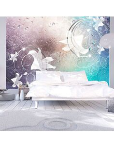 Papier peint GLASS FLOWERS - par Artgeist