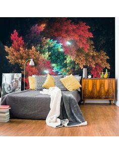 Papier peint COLOURFUL FOREST - par Artgeist