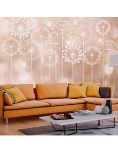 Papier peint RADIANT FLOWERS - Motifs floraux par Artgeist