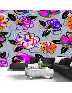 Papier peint FLOWER PALACE - par Artgeist
