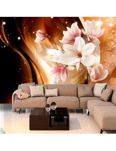 Papier Peint Symphony Of Glare  Orchidées Artgeist