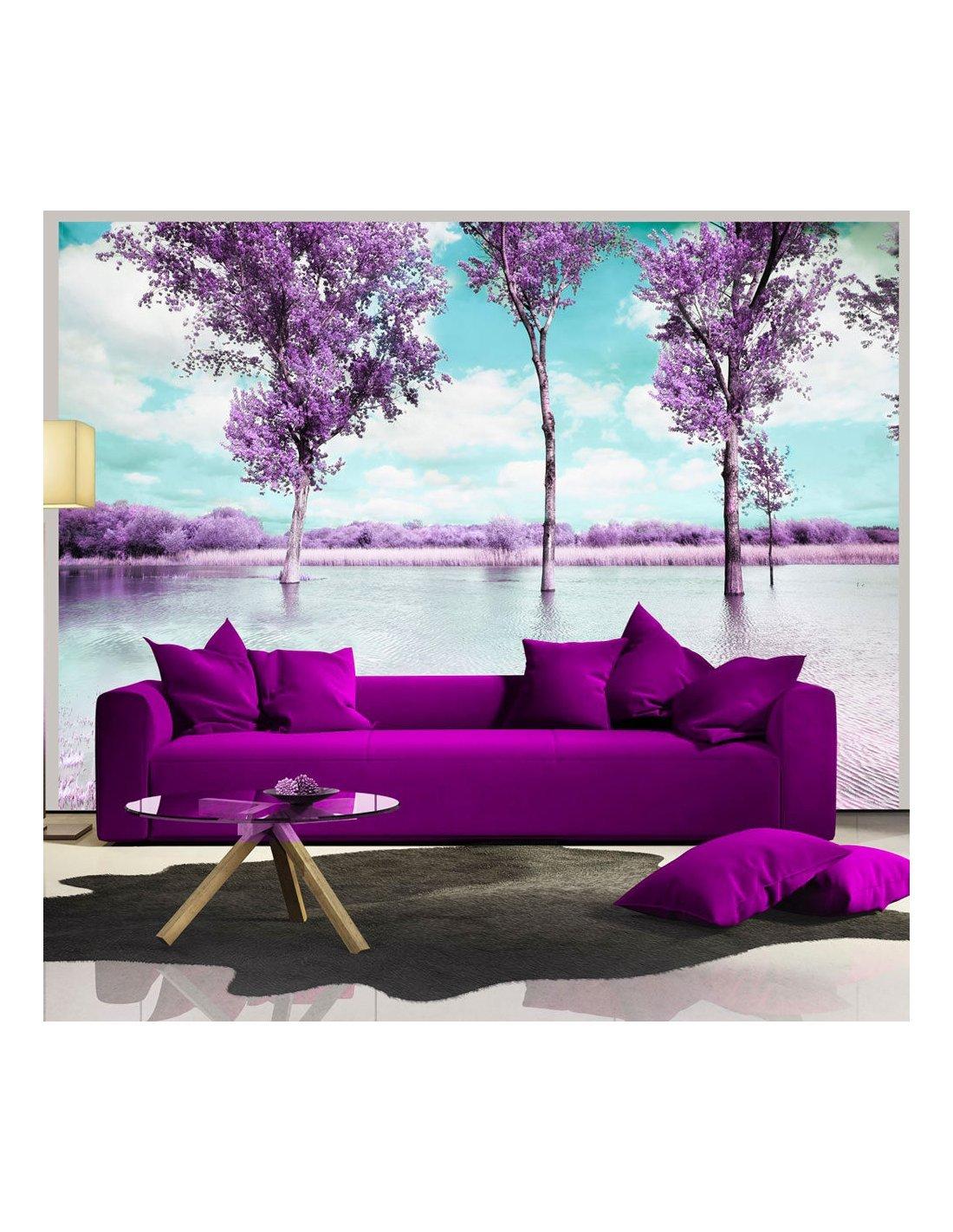 papier peint paysage de bruy re artgeist. Black Bedroom Furniture Sets. Home Design Ideas