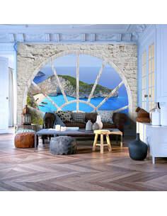 Papier peint LOOK AT THE ISLAND OF DREAMS - par Artgeist