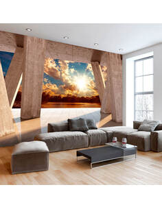 Papier peint SUNNY PROMENADE - par Artgeist