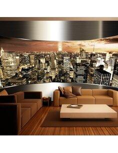Papier peint PANORAMA DE NEW YORK - par Artgeist