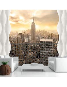 Papier peint LIGHT OF NEW YORK - par Artgeist