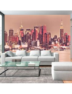 Papier peint NY MIDTOWN MANHATTAN SKYLINE - par Artgeist