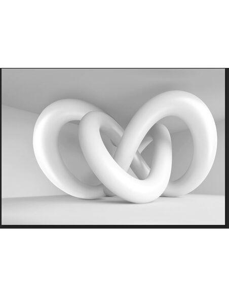 Papier peint WHITE WEAVE - par Artgeist