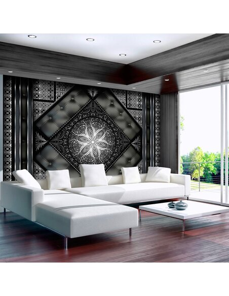Papier peint BLACK MOSAIC - par Artgeist