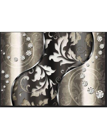 Papier peint DIAMOND LEAVES - par Artgeist
