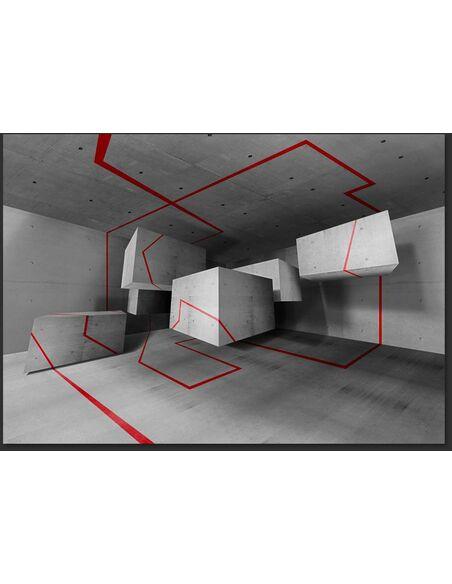 Papier peint RED TRAIL - par Artgeist