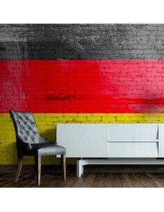 Papier peint GERMAN FLAG - par Artgeist