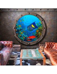 Papier peint SUBMARINE WINDOW - par Artgeist