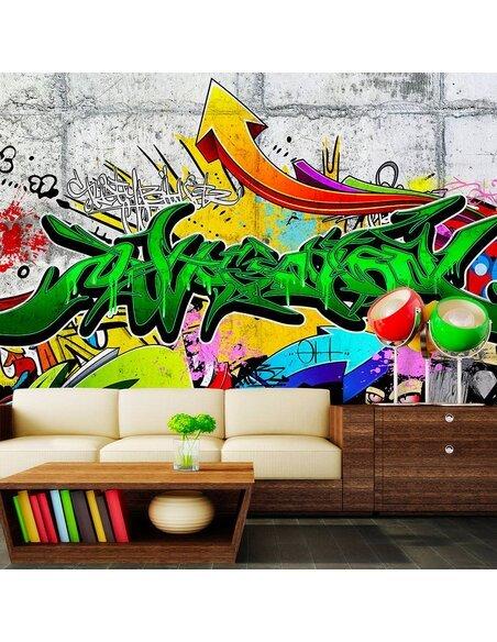 Papier peint URBAN GRAFFITI - par Artgeist