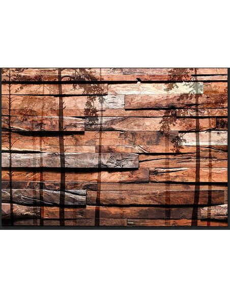 Papier peint SHADOW OF FOREST - par Artgeist