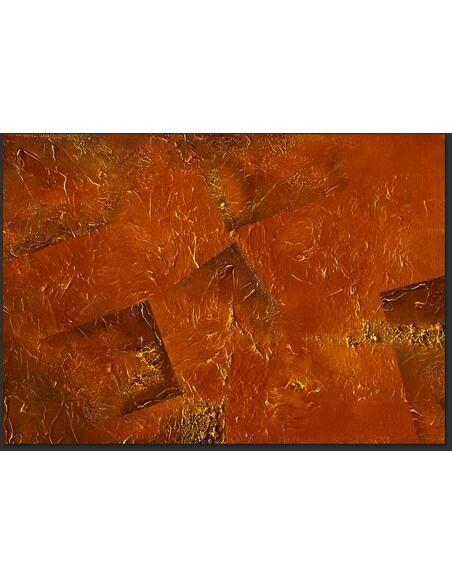 Papier peint GOLDEN MAGMA - par Artgeist
