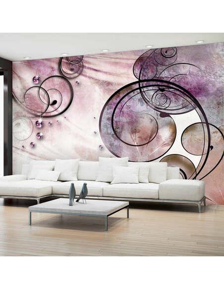 Papier peint PINK RHAPSODY - par Artgeist