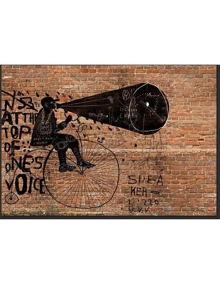 Papier peint CITY NEWS - par Artgeist