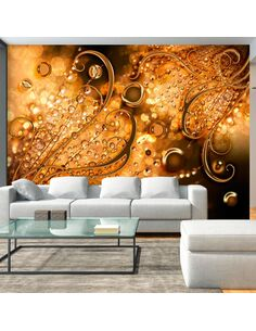Papier peint GOLDEN MEMORIES - par Artgeist