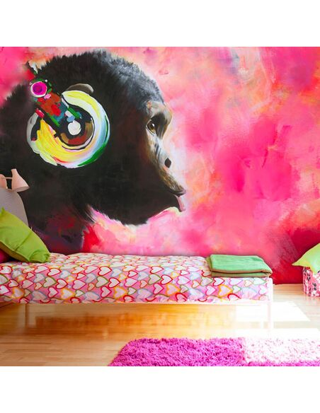 Papier peint MUSIC WORLD - par Artgeist