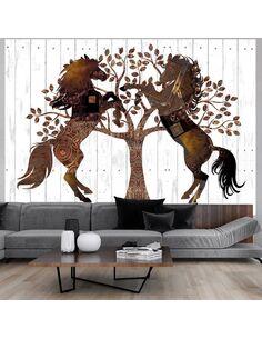 Papier peint MECHANICAL HORSES - par Artgeist