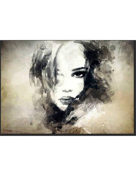 Papier peint MYSTERIOUS GIRL - par Artgeist