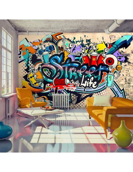 Papier peint STREET LIFE - par Artgeist