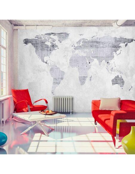 Papier peint CONCRETE MAP - par Artgeist