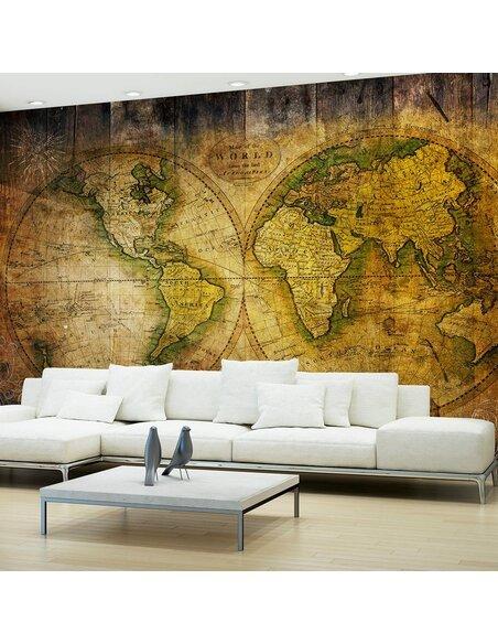 Papier peint SEARCHING FOR OLD WORLD - par Artgeist