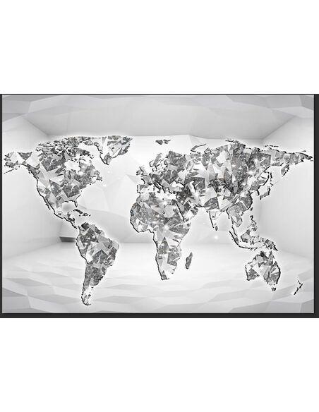 Papier peint DIAMOND MAP - par Artgeist