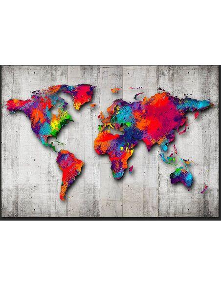 Papier peint CONCRETE WORLD - par Artgeist